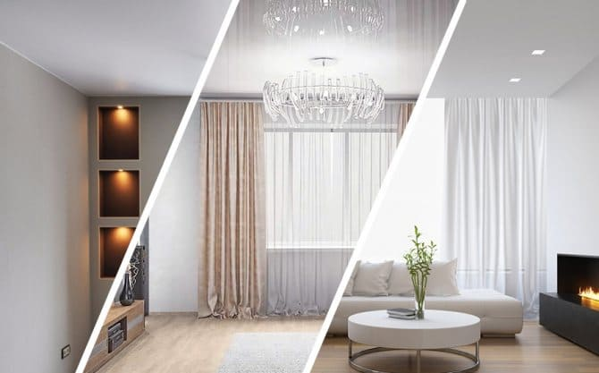 Натяжные потолки — плюсы и минусы тканевых и ПВХ полотен
