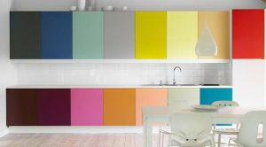 Цвет кухонного фасада