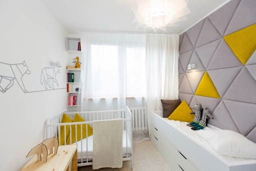 Материалы для отделки стен в детской комнате