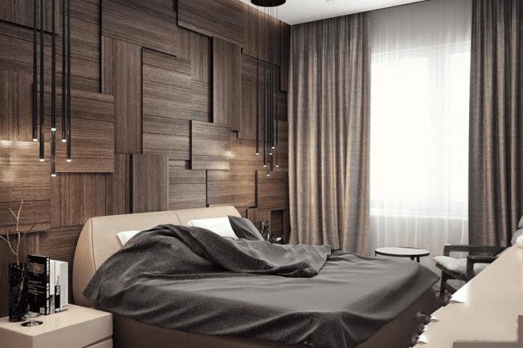 Оформление интерьера спальной комнаты